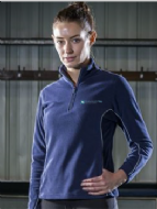 Ladies 1/4 Zip Micro Fleece